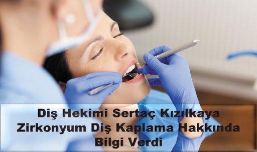 Zirkonyum diş kaplama yapımı
